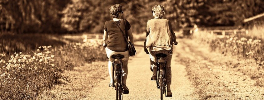 person, woman, together